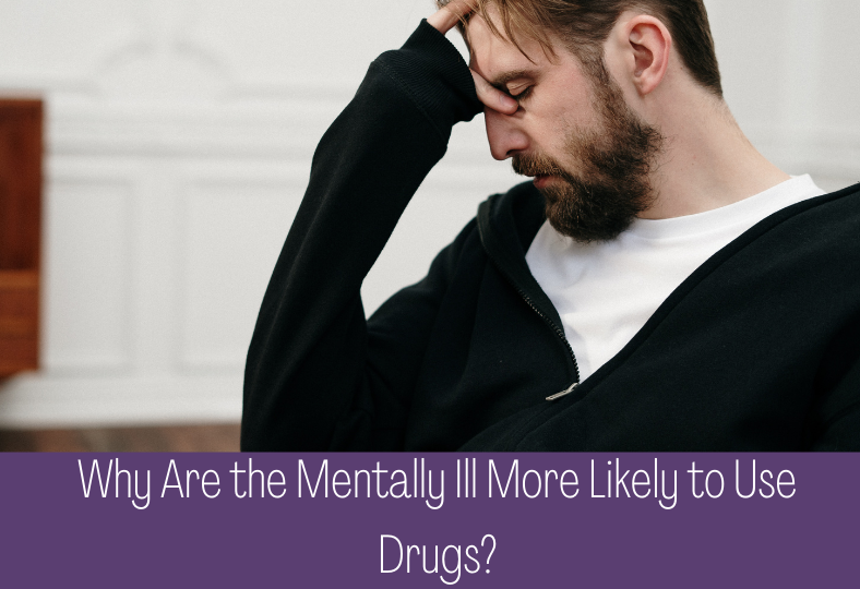 Drug Usage More Likely in Mentally Ill